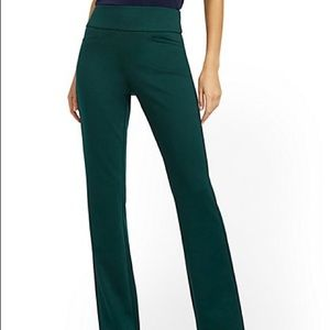 NWT Whitney High-Waisted Straight-Leg Pant